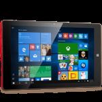 "Prestigio MultiPad Visconte V (10.1"", IPS, 1280x800, OS Windows 10 Home, Office Univ.Apps, Intel Atom Z3735F, 2GB+32GB, 2MP+2MP, WiFi b\g\n, BT 4.0, micro HDMI, full USB 2.0x2, micro USB 2.0, 6500mAh, US) Brown\Red"